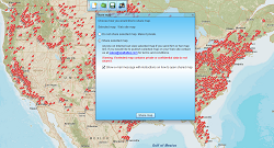 Share business data maps