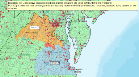 Map Gallery Map Business Online Interesting Data Visualized - Us Postal Zone Map