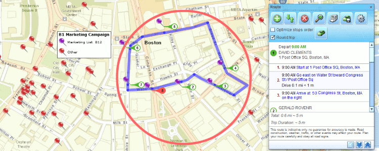 Delivery Route Planning | Sales Route Mapping on