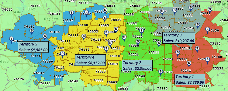 Sales Territory Mapping | #1 Sales Mapping on smsa maps of usa, best maps of usa, city maps of usa, region maps of usa, state maps of usa, zip code map usa, msn maps of usa, elevation maps of usa,
