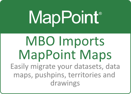 The Best MapPoint Alternative | Replace MapPoint with Map