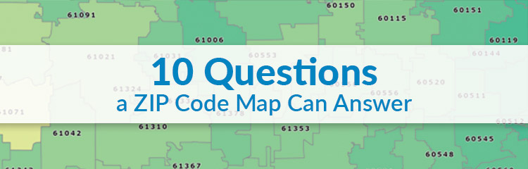 10 Questions A Zip Code Map Can Answer Map Business Online - Us-postal-service-zip-code-map