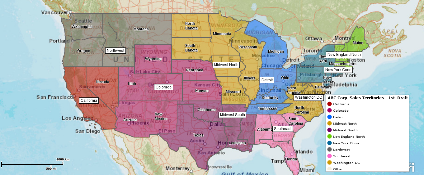 Us Sales Territory Map Sales Territory Mapping   Where do I start? | Map Business Online Blog