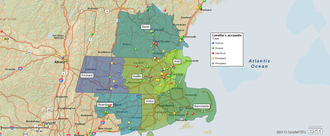 Sales Territory Mapping Where do I start Map Business Online – Sales Territory Business Plan
